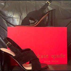 NEW Black Kate Spade Heels!